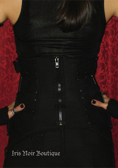 Lip Service Bio-Threat Chemical Warfare Cyber Waist Cincher