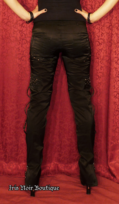 Punk Rave Studs & Zippers Gothic Visual Kei Pants