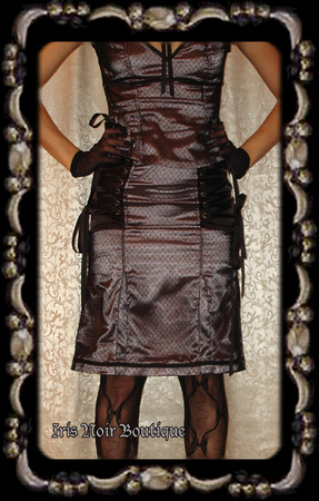 Lip Service Devil Dolls IV Retro Formal Vintage Style Skirt
