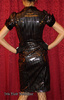 Lip Service Lady is a Tramp Cotton Club Gothic Vinyl Dress