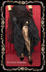 {Stockings} Elegant Lace Pattern Gothic Victorian Stockings