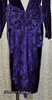 {Vintage} Malvina's Night Out Purple Velvet Lolita Bow Gown L-XL