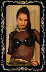 Lip Service Vinyl and Vegi Leather Classics Goth Basic Bra