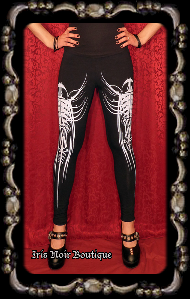 Lip Service Millennium Moon Cyber Tribal Leggings