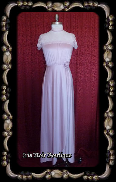 {Vintage} 'Dreams of Roses' Victorian Steampunk Gown, Medium